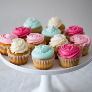 For an additional fee, frosting colors and piping styles can be customized for your event!