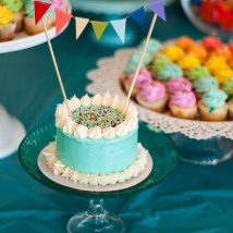 "I love these mini 4"" layer cakes. They make the day extra special for the birthday boy or girl!"